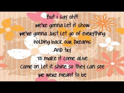 Bridgit Mendler - Somebody (lyrics)