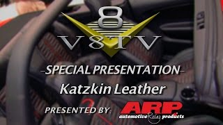 Katzkin Leather Custom Upholstery and Hurst RAM SEMA 2015 V8TV Video