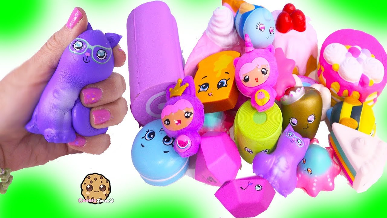 Squish Dee Lish Series 2 : Squishy Squish Dee Lish Shopkins Surprise Blind Bag Squishes Series 2 Toy Video - YouTube