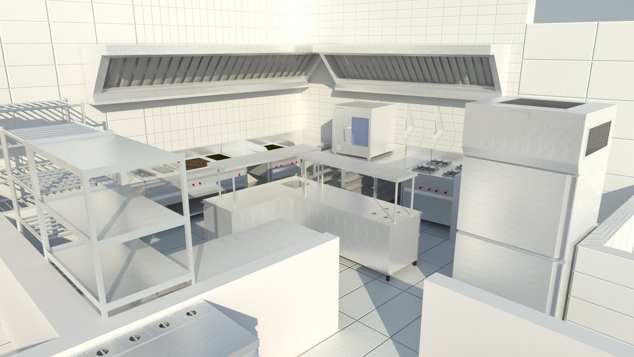 Commercial Kitchen 3d Design Commercial Kitchen 3d Designer Vedio No 2 By Commercial Kitchen