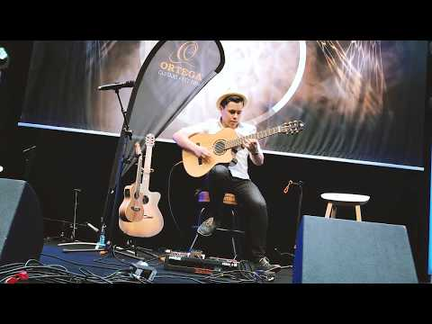 BILLY WATMAN at the Acoustic Stage of the Musikmesse 2018 in Frankfurt am Main, Germany