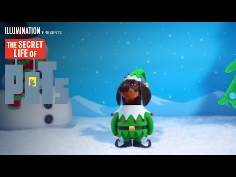 Thumbnail: The Secret Life of Pets - The Holiday Greeting (HD) - Illumination