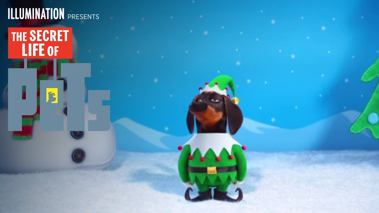 The secret life of pets the holiday greeting hd illumination the secret life of pets the holiday greeting hd illumination youtube kristyandbryce Images