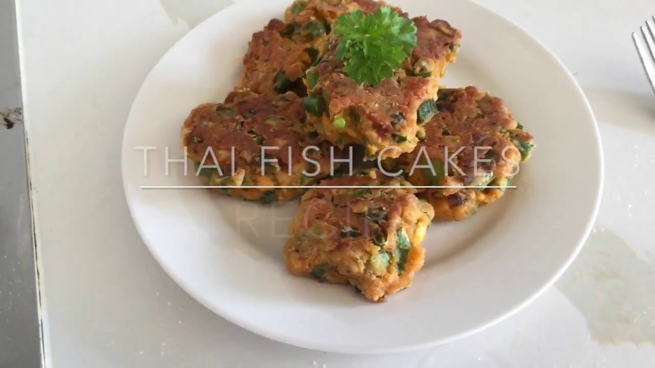 thai fish cakes leftover fish youtube