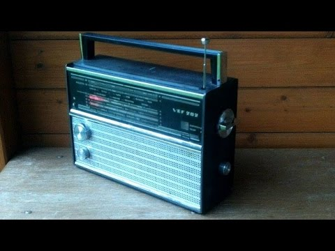 How to make 50w bluetooth amplifier from old radio VEF 202