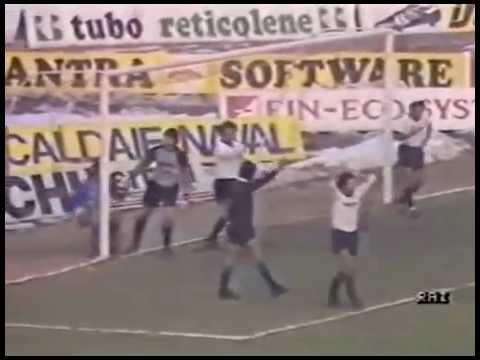 1986-1987 Brescia vs Inter 0-1 Passarella