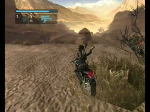 Tomb Raider Legend - Peru moto rush |