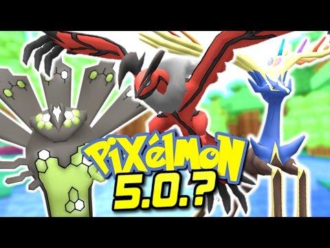Pixelmon 5.0.? Update - ZYGARDE, YVELTAL & XERNEAS! (Secret Pixelmon Update)