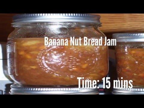 banana nut bread jam