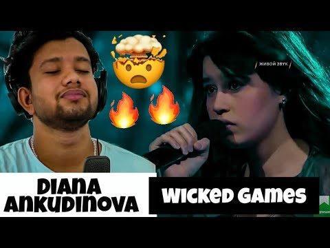 """Singer """"First time"""" Reacts to Diana Ankudinova - Wicked Games l what did i just witness"""