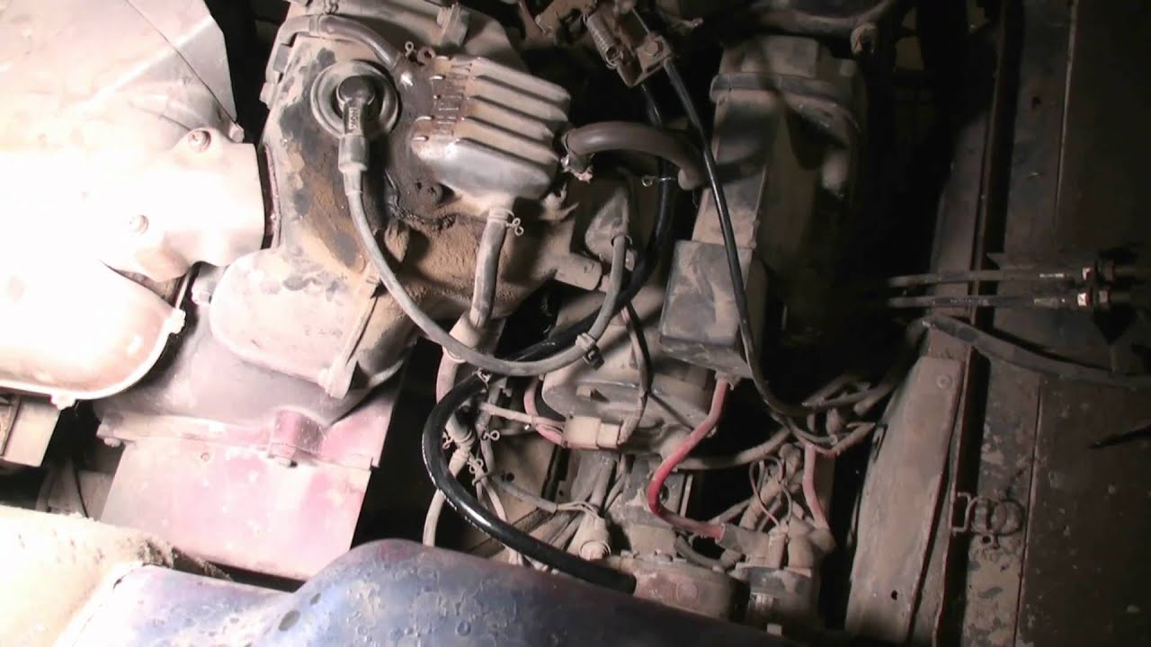 yamaha g2 golf cart tuneup repair part 1 youtube rh youtube com Yamaha Warrior 350 Wiring Diagram Simple Wiring Yamaha