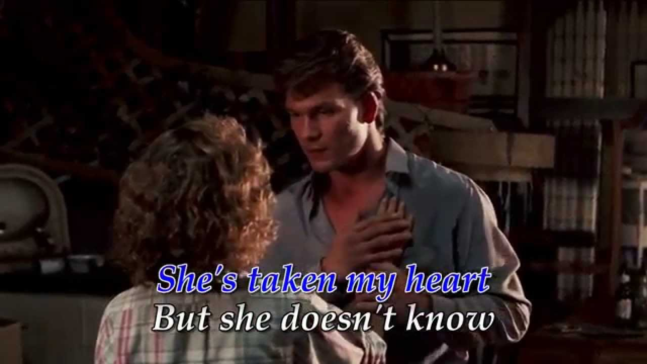 patrick swayze featuring wendy fraser she like the wind