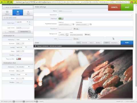 Smatr Slider добавление модуля в Joomla