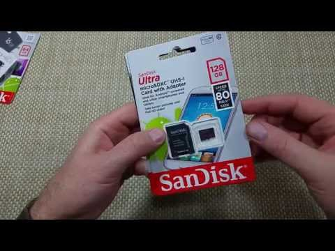 Sandisk 128GB Micro SD Memory Card Class 10 difference between 1st and 2nd generation