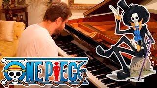 Binks Sake on Piano ! One Piece music, Brook's Song - Anime Theme Songs