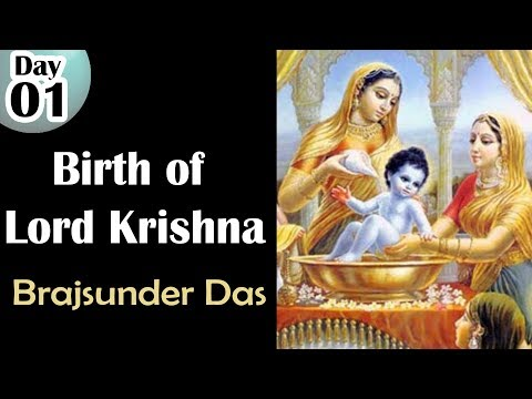 Birth Of Lord Krishna Day - 1 , Chandigarh By Brajsunder Das