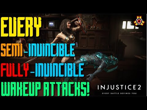 Every Semi invincible & Fully Invincible Wake Up In Injustice 2