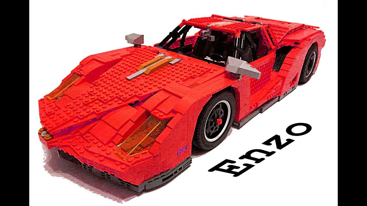 Lego Technic Ferrari Enzo Desert Tuning Youtube