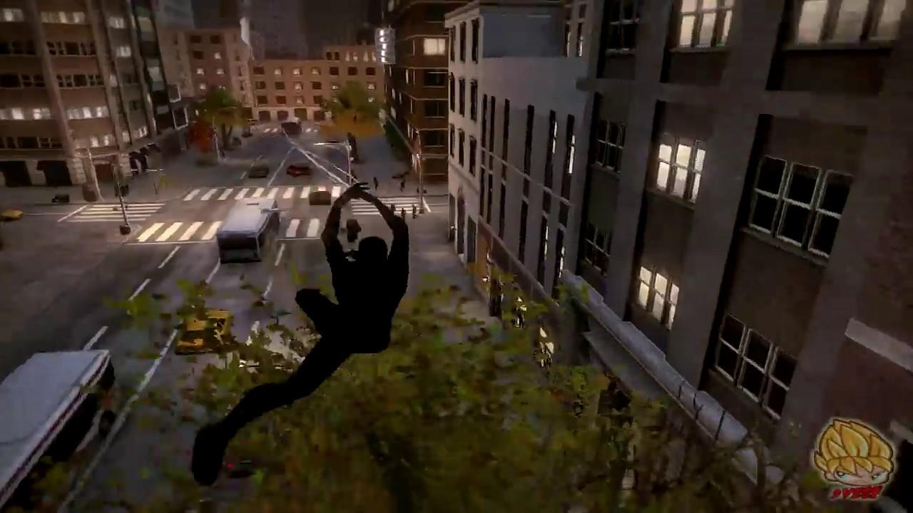 The amazing spiderman pc noir suit mod review youtube - Spiderman noir 3 ...