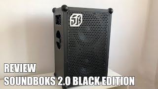 Review Soundboks 2.0 Black Edition el altavoz bluetooth inalambrico mas potente del mundo