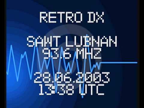 RetroDX: Sawt Luban (Voice of Lebanon) on 93,6 MHz - 2003.06.28