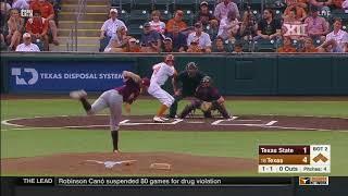 Texas State vs Texas Baseball Highlights - May 16