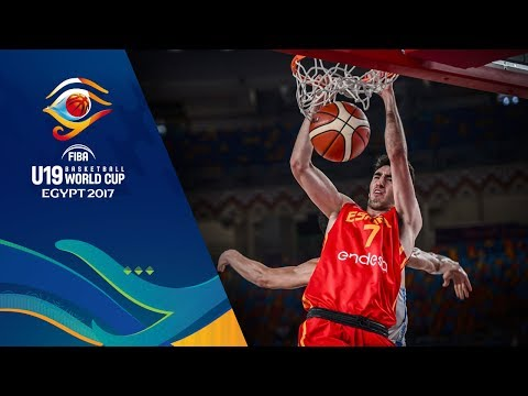 Argentina v Spain - Full Game - Quarter-Final - FIBA U19 Basketball World Cup 2017