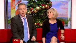Sian Lloyd  - 23 December 2012 _BBC BREAKFAST -