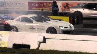 Worlds Fastest Mercedes Mclaren SLR vs Corvette