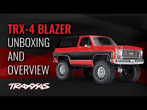 TRX-4 Blazer | Unboxing and Overview