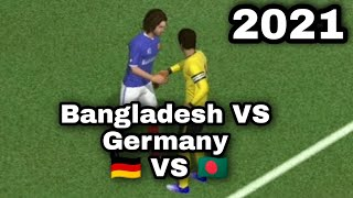 BGD VS deu score match football match 2021 games Germany vs Bangladesh Sharif hawladar official