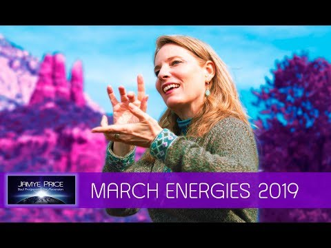 March Ascension Energies and Light Language DNA Activation with Jamye Price 0319