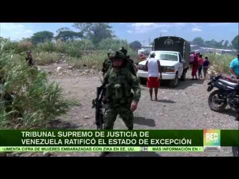 Tribunal Supremo de Justicia ratifica Estado de Excepción en Venezuela