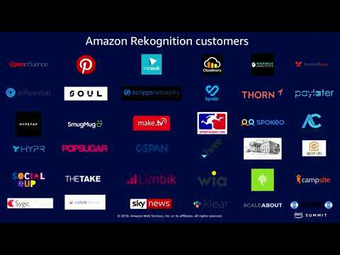 Chicago Summit 2018 - Amazon Rekognition: Deep Learning-Based Image and Video Analysis