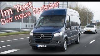 REVIEW - Der neue Mercedes-Benz Sprinter // Mercedes-Fans.de