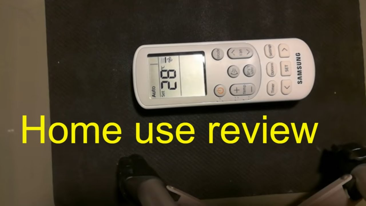 How to use Samsung AC Remote