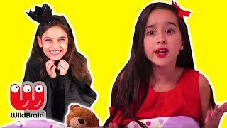 PRINCESS BEDTIME ROUTINE 😴 Malice Pranks Isabella! - Princesses In Real Life | WildBrain Kiddyzuzaa