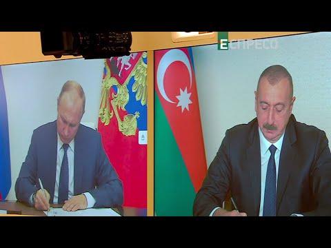 Нагорный Карабах: Подписание соглашения о прекращении боевых действий и протесты