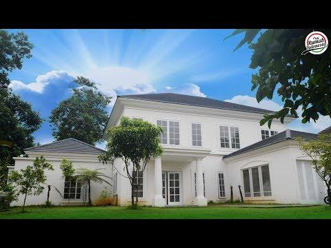 forsale-||-grebek-rumah-mewah-23-milyar-view-golf-+-kolam-renang-desain-modern-classic