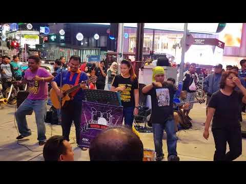 redeem buskers - kerimpak kaca lauya (14.01.2018)  Live @ bukit bintang KL