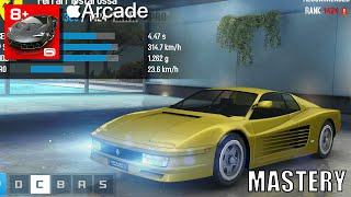 Asphalt 8 Airborne+ Mastery - Part 6 - C-Class Series: Ferrari Testarossa