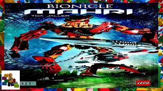 LEGO instructions - Bionicle - 8911 - Toa Jaller