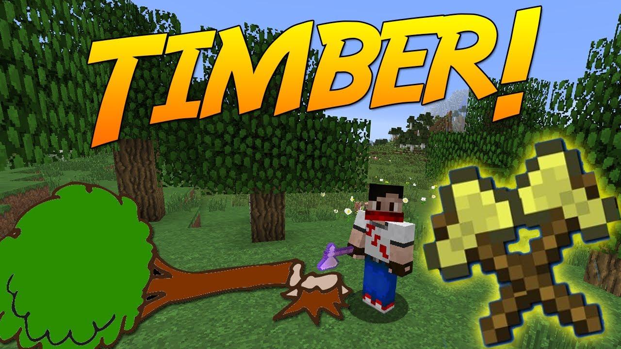 timber mod minecraft