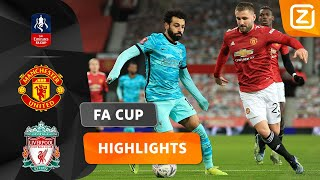 CLASH OP OLD TRAFFORD! 💥 | Manchester United vs Liverpool | FA Cup 2020/21 | Samenvatting