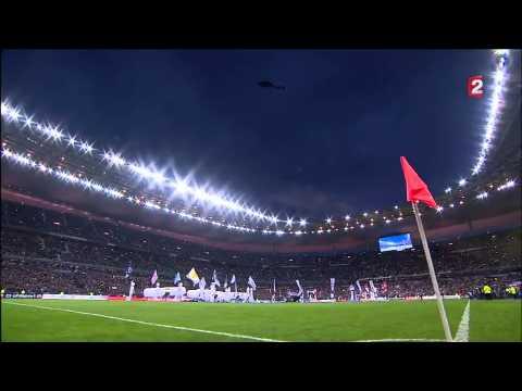 Coupe de la Ligue 13-14 Final Lyon/PSG Opening ceremony, 2 live OnBoard Cams setup