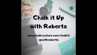 Chalk Couture - Front Porch Welcome Sign on wooden plank using Chalk Paste!