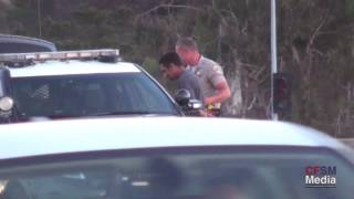 Car Accident and Arrest I-5 Solana Beach