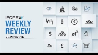 iFOREX Weekly Review 25-30/09/2016: Crude oil, Germany and US.