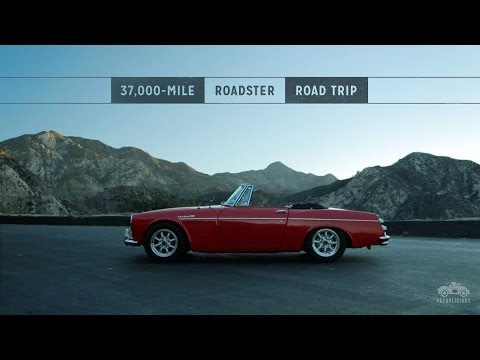 This Datsun Traveled 37,000 miles on a North American Road Trip by Petrolicious  on YouTube