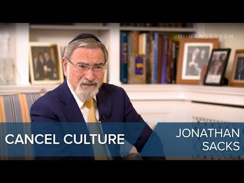 Rabbi Jonathan Sacks On Cancel Culture